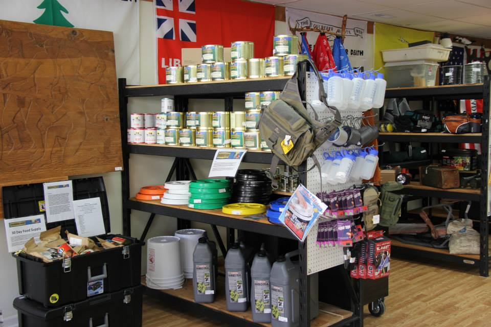dehyrated food for hunting and survival.  Medical kits for camping.  Big Horn Trading 227 N. Mai